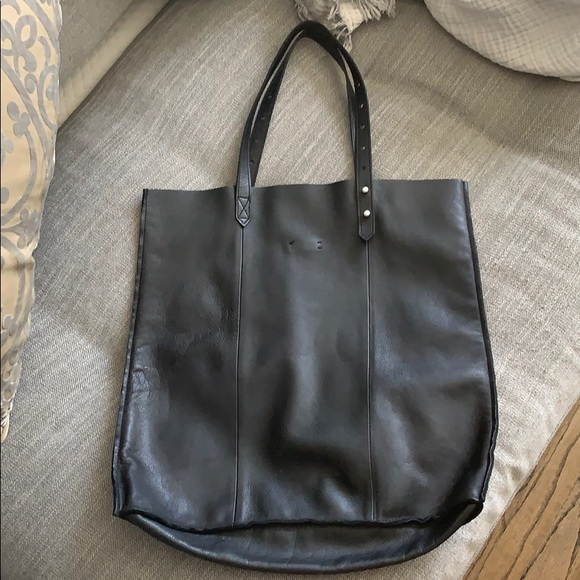 Madewell Handbags - Madewell bag- black Mccarren tote — like new